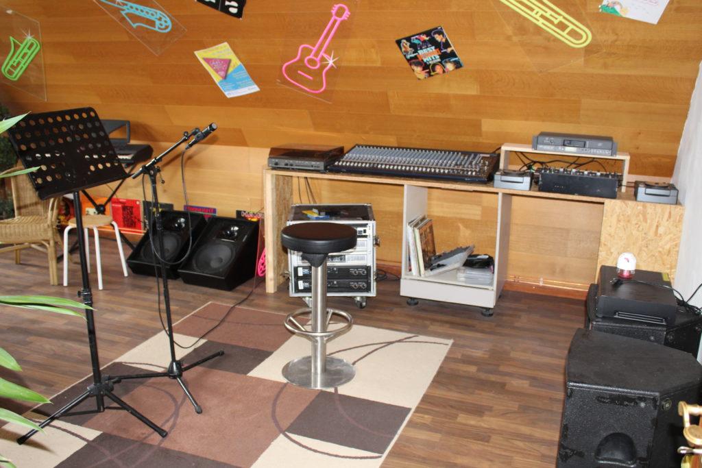 Unser Musikstudio